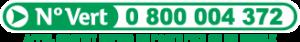 Numéro vert 0 800 004 372 (appel gratuit depuis un poste fixe ou mobile)