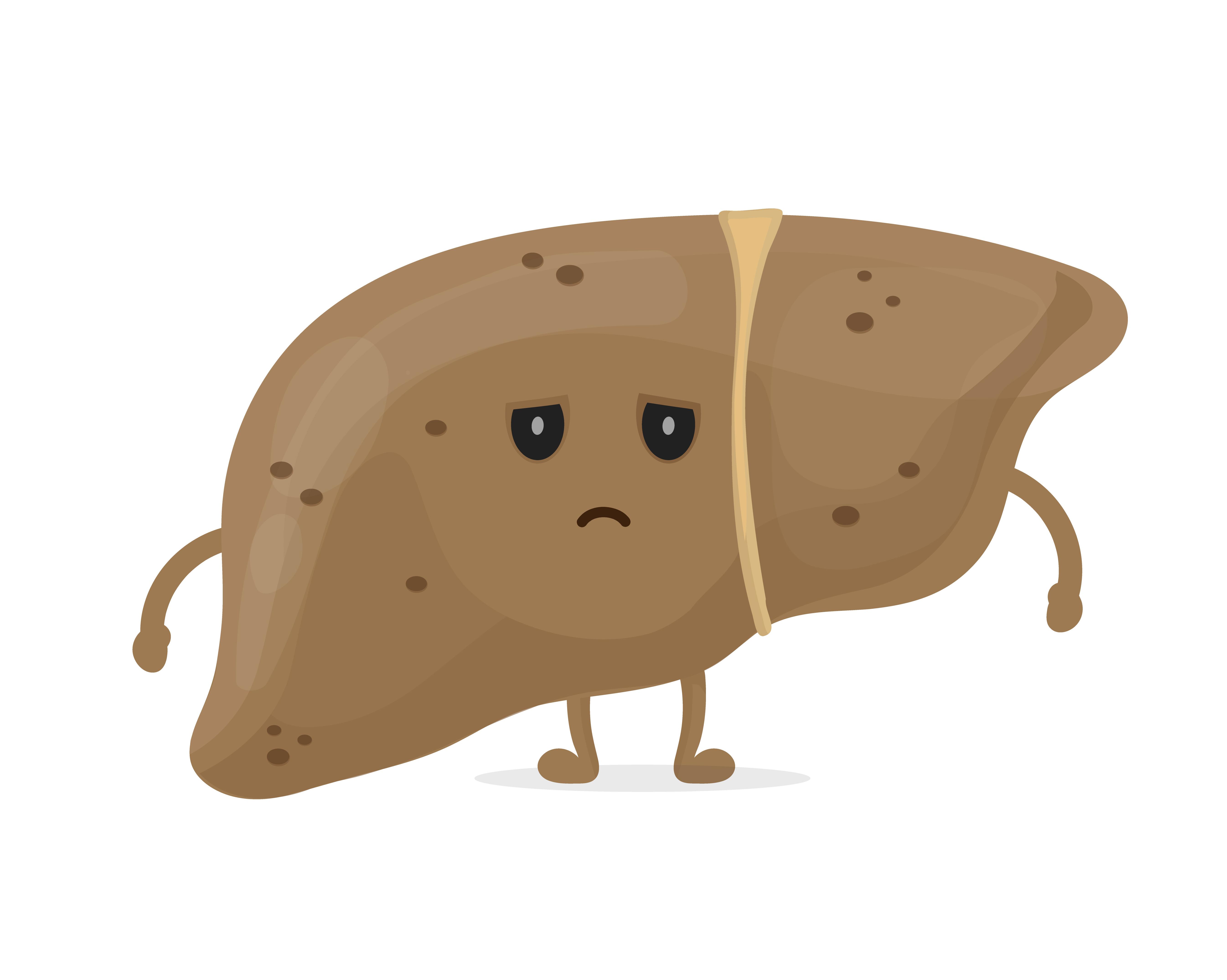 Quels peuvent être les symptômes d'une maladie du foie?